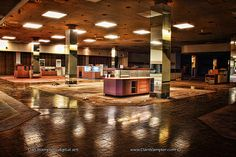 Completely Surreal Photos Of America's Abandoned Malls. This pic is from Crestwood Mall, St. Louis