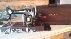 Singer 128 handcrank