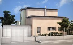 Severini's Villa - Villa's entrance