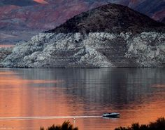 Lake Mead still largest reservoir in United States #nevada #nv150