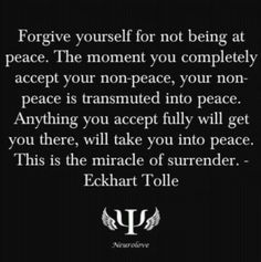 Surrender. Also a great reminder for those on the Life Path of Peace. Curated by The Pragmatic Palmist/peggiearvidson.com