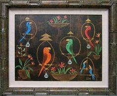 Enchanted Tiki Room birds. walt disney, enchant tiki, 45th anniversari, disneyland, tiki tiki, glee club, birds, tiki room, amanda visel