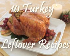 10 Recipes for Leftover Turkey on Lazy Budget Chef