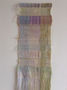 "development for ""Passing of the time"" -1 - emi fujisawa pale shade, fiber art"
