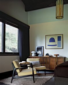 ranch home midcentury styling