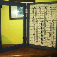 My necklace display for Jewel Kade
