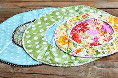 Homemade diaper changing pad