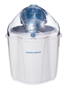 Hamilton Beach's 1.5 Quart Capacity Ice Cream Maker ($29.99) delivers sweet desserts and is a breeze to clean