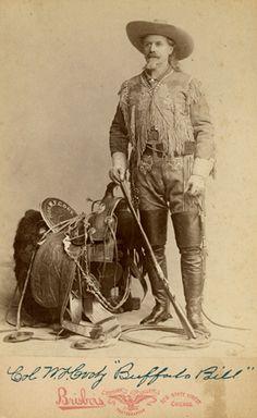 "Alfred Brisbois. William F. Cody ""Buffalo Bill,"" late 1880s"