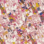 Jay McCarroll Center City Los Angeles Downtown [FS-JY039-Downtown] - $5.95 : Pink Chalk Fabrics is your online source for modern quilting cottons and sewing patterns., Cloth, Pattern + Tool for Modern Sewists