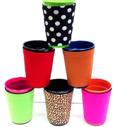 Solo Cup Koozies Set of 2Party Cup Koozies can be by PTThreads,