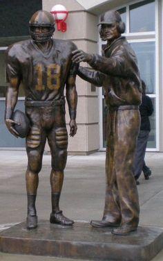 T.O. Outside Memorial Stadium.  Lincoln, NE
