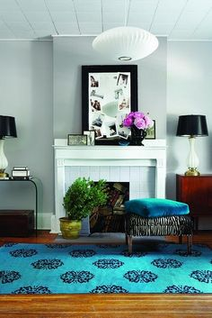 that rug is fab