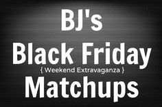 BJs Black Friday Front of Club Coupons - 3 Days Only