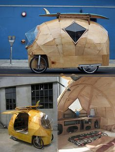 Jay Nelson // Pedal Powered camper van