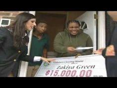 The Prize Patrol goes to Newark, NJ to surprise Zakiya Green!