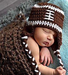 hats, hat photo, football, crochet footbal, babi, photo prop, handmad idea, kid, footbal hat