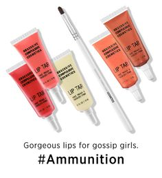 Obsessive Compulsive Cosmetics Pro's Picks Lip Tar Set #Ammunition #Sephora #Giftopia #gifts #holiday