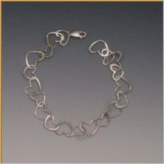 Peggie Robinson Designs: 14K Gold Heart Chain Bracelet. Still love it after all these years!