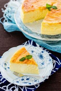 Japanese Cheesecake | Cream Cheesecake チーズケーキ