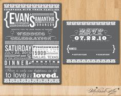 way awesome wedding invitations!