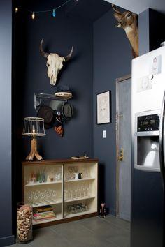 basement room color