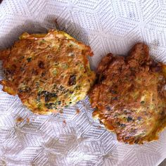So So Simple Food: Seafood Fritters- Prawns, Spinach. Easy Peasy