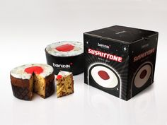 Banzai. Sushittone, mixing the words sushi and panettone. When the sushi meets typical italian christmas dessert.  Christmas Gadget.