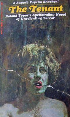 paperback art, roland topor, pulp monster, devil pulp, cover art, horror paperback