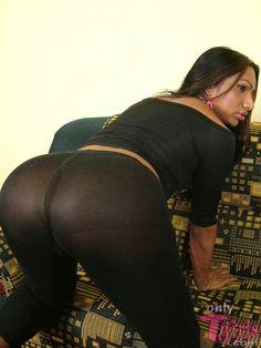 T girl ass