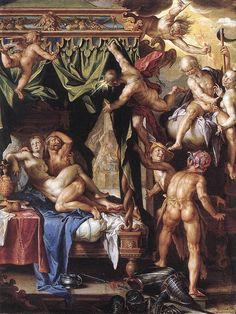 Ares y Afrodita, descubiertos.
