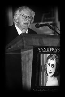 Miep Gies, the woman who hid Ann Frank and her family for 2 years = HERO