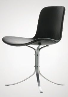 PK9 Tulip Chair by Poul Kjaerholm