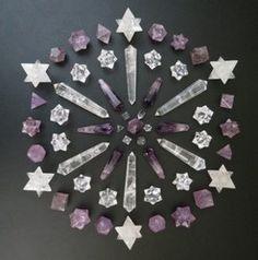 Mandala Crystal - Crystal Healing Art
