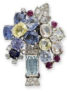 1940s Cartier brooch