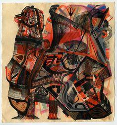 robert hardgrave, art, drawing