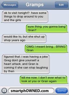 too hilarious!
