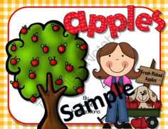Life Cycle of Apples - Sample Pages from Sweet Integrations...With a Taste of Technology on TeachersNotebook.com -  (4 pages)  - Enjoy 3 different activities from my complete unit about apples; PowerPoint, games, investigations, and more... FREE