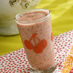 Fresh Cherry Smoothie, from Cooking Light