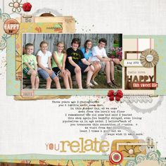 5 Ways to Make Scrapbook Page A Dynamic Part of Your Visual Design   Debbie Hodge   GetItScrapped.com/blog