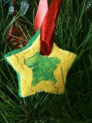 #Tutorial for how to make traditional salt dough #ornaments; perfect #Christmas #craft for the kids!