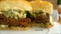 Buffalo'd Bison Burgers ~ The Complete Savorist