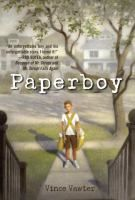 <2013 pin> Paperboy by Vince Vawter. SUMMARY: When an eleven-year-old boy takes over a friend's newspaper route in July, 1959, in Memphis, his debilitating stutter makes for a memorable month.