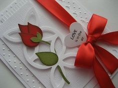 SU Stampin Up bird punch - uses the wing.  A WOW Card!!