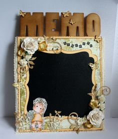 6002/0163 Noor! Design Vintage Border door Joyce Martens