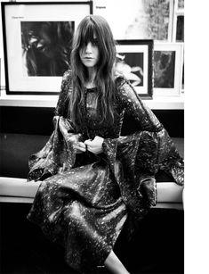 Siv-Ann Schneider » Charlotte Gainsbourg by Will Davidson for Oyster #98