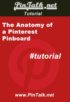 #tutorial The Anatomy Of A #Pinterest Pinboard http://pintalk.net/the-anatomy-of-a-pinterest-pinboard/ via @PinTalk Anatomy of A Pinterest board
