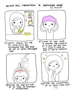 treatment for damaged hair.