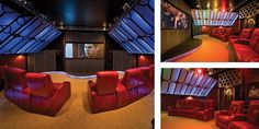 attic theater room on Pinterest | 19 Pins