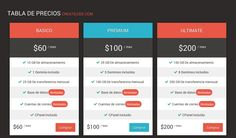 Flat Pure CSS3 Pricing Table, #CSS, #CSS3, #Flat, #HTML, #HTML5, #Pricing_Table, #Resource, #Responsive, #Snippets, #Transition, #Web #Design, #Development